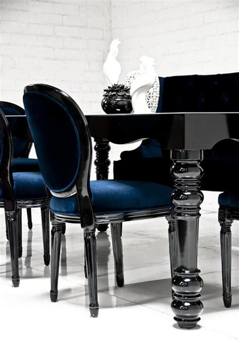 Black Gloss Dining Table And Chairs Best 25 Dining Tables Ideas On