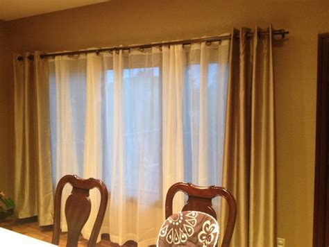 Double Window Treatments by What Is Wrong With These Curtains