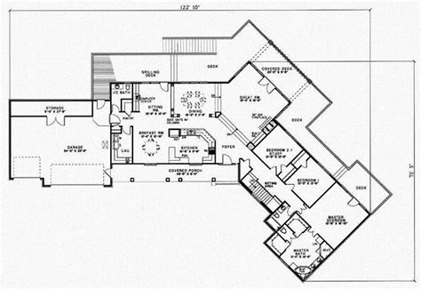 4 Bedroom Ranch Floor Plans by New 4 Bedroom Ranch Style House Plans New Home Plans Design