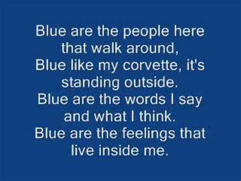 song from blue eiffel 65 i m blue da ba lyrics