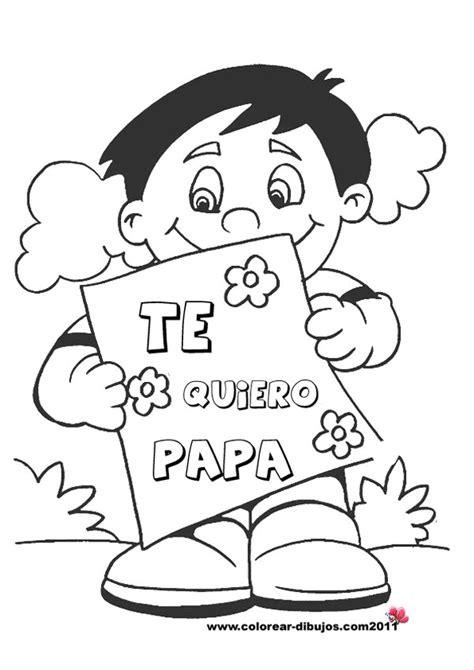 dia de los padres coloring pages 6 dibujos para el d 237 a del padre pequeocio