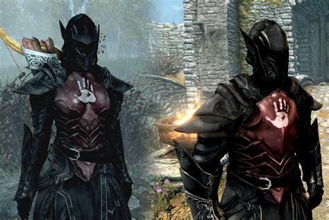 skyrim heavy armor mod dark brotherhood heavy armor set at skyrim special edition
