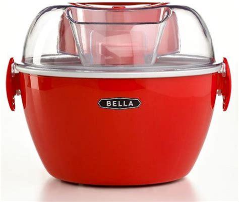 bella kitchen appliances bella ice cream maker contemporary ice cream makers