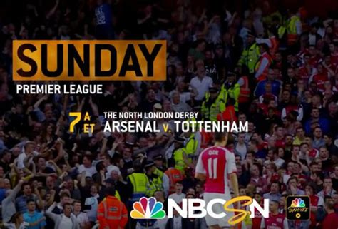 Arsenal Spurs | where to find arsenal vs spurs on us tv and streaming