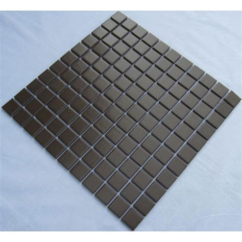 copper glass and porcelain square mosaic tile designs glazed porcelain square mosaic tiles design black ceramic