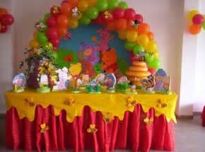 winnie pooh table winnie the pooh baby shower