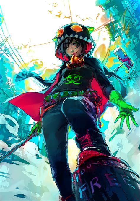 R Animethemes by All City By Yuumei On Deviantart