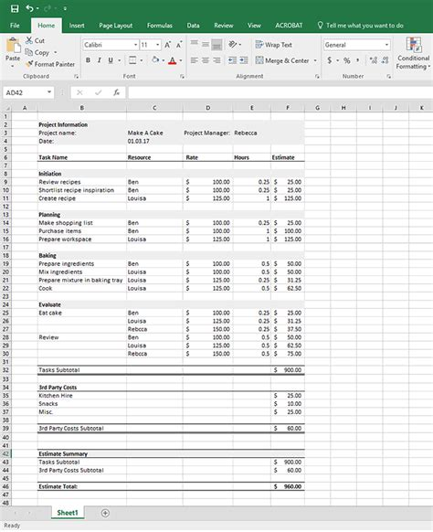 software cost estimation template and invoice iwork numbersate