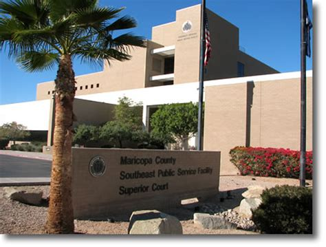 Arizona Court Records Clerk Of The Superior Court Of Maricopa County