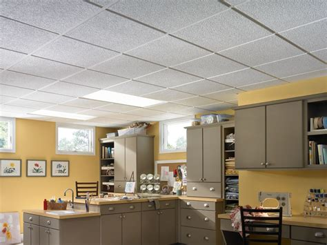 Armstrong Drop Ceiling by Classic Textured Contractor Series Textured Paintable