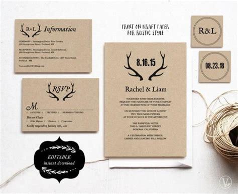 diy printable wedding invitation suites printable wedding invitations diy wedding invitation