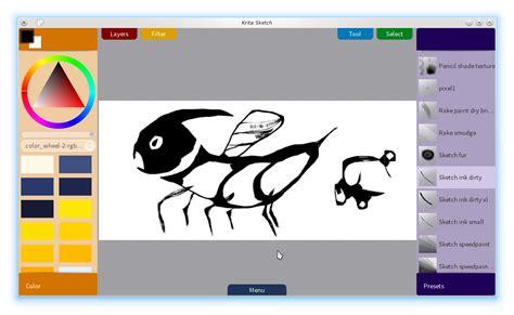sketchbook linux kritasketch linux mint community