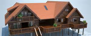 Home Design Blueprints Log Home Plans Timber House Plans Log Cabin Plans