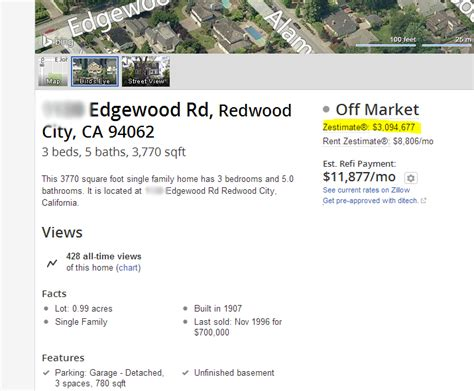 zillow zestimates are inaccurate for bay area realsmart