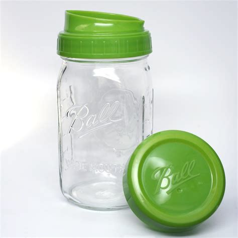 ball mason ball 174 wide mouth plastic pour measure cap with wide