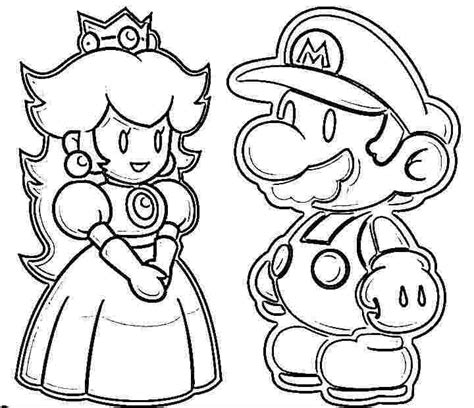 mario coloring pages princess mario princess coloring pages coloring pages