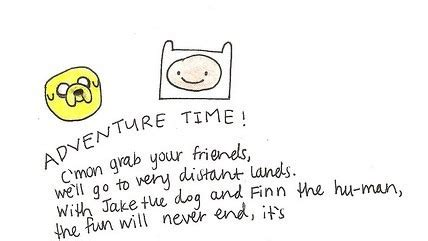 theme song adventure time adventure time theme song on tumblr