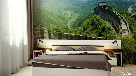 nature bedroom wallpaper nature inspired wall murals make your home look bigger