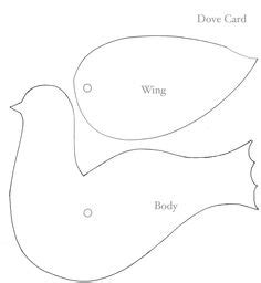 Dove Template Martha Stewart
