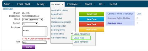 5 6 2 carry forward leave validity bmo hrm system