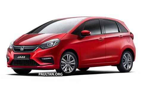 Honda New Jazz 2020 by 2020 Honda Jazz Rendered A Softer Looking 4th