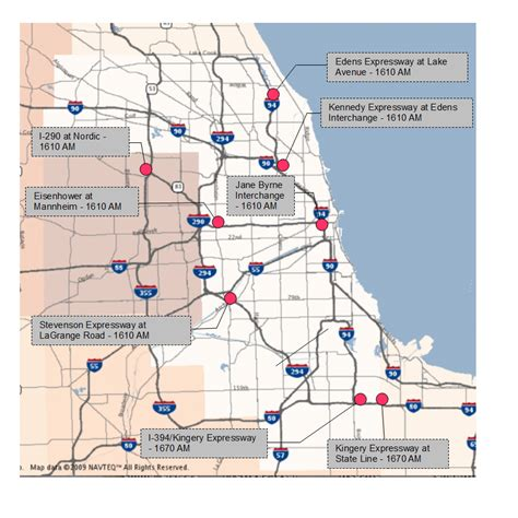 chicago expressways map travel midwest frequently asked questions