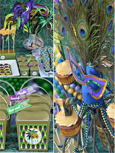 party themes mardi gras peacock mardi gras party ideas photo 20 of 37 catch my