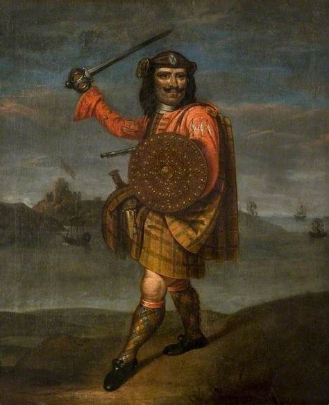 scottish highlander warrior pictures to pin on pinterest alastair grant mor the castle grant chion c1714 18