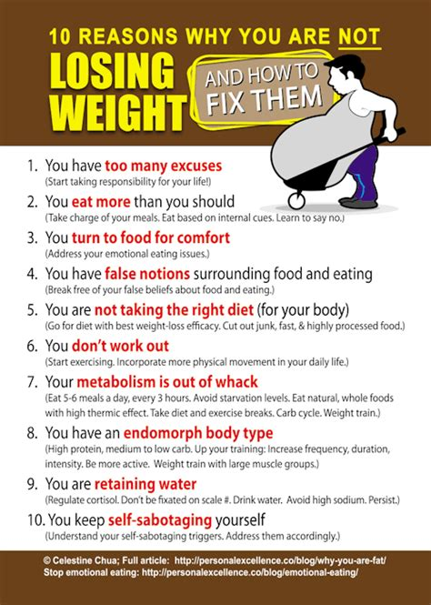 Why Do You Want To Lose Weight by Getting Fit And Healthy 10 Reasons Why You Re Not Losing