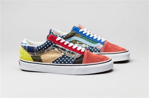 patterned vans old skool this vans old skool features 15 different patterned and