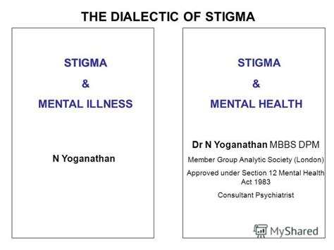 section 12 mental health act презентация на тему quot stigma and empowerment dr n