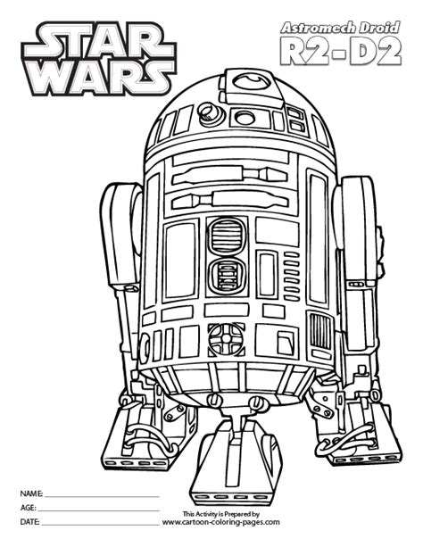 free c3po coloring pages
