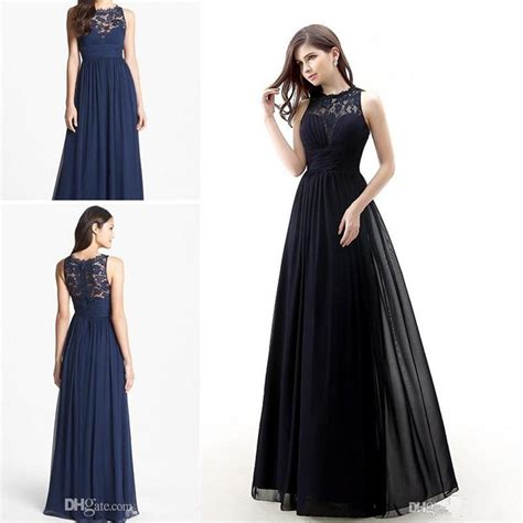 Dress Navy Blue Bunga Navy lace dress bridesmaid promotion shop for promotional lace