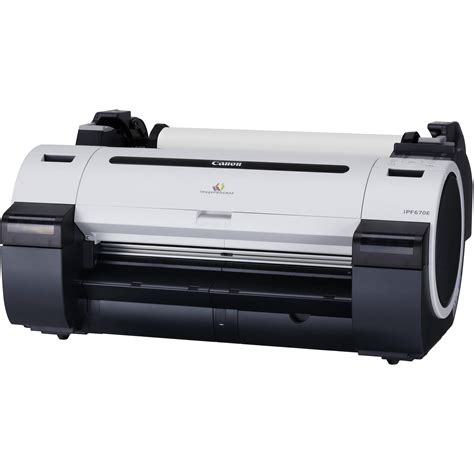 format video canon canon imageprograf ipf670e 24 quot large format 2162c002aa b h