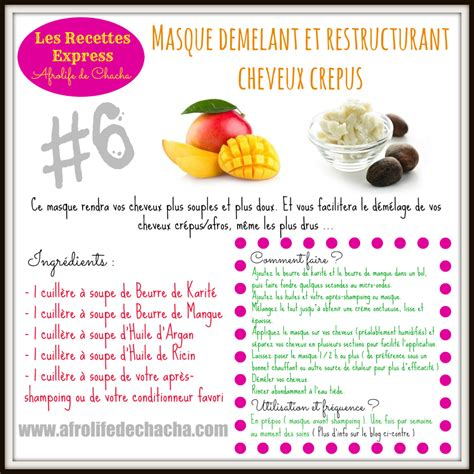beurre de cuisine cheveux beurre de mangue cheveux crepus