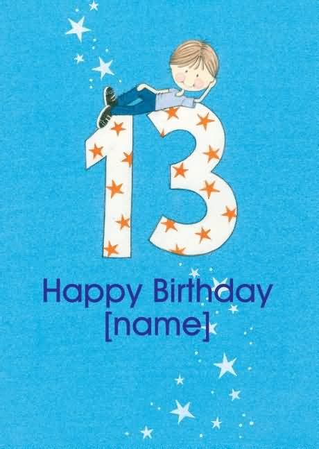 Birthday Cards For 13 Year Boy Good 13th Birthday Wishes For Boy Nicewishes Com