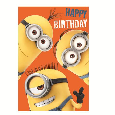 Minion Gift Card - minion happy birthday card gangcraft net