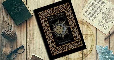 tarot tracker a year journey books review tarot tracker a year journey for puck s sake