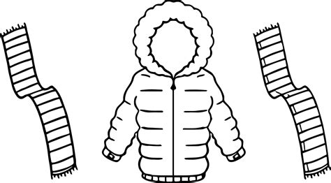 coloring page winter coat coloring pages ideas