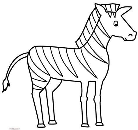 imagenes para pintar una estetica dibujos de cebras para colorear