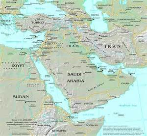 worldregionsproject geography of the middle east