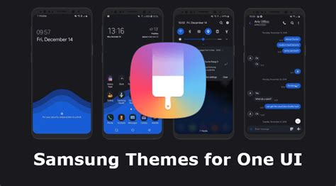 samsung themes apk for one ui beta droidviews