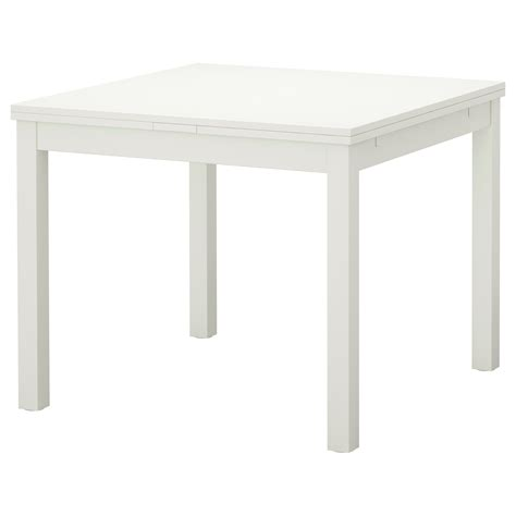 ikea white table bjursta extendable table white 90 129 168x90 cm ikea