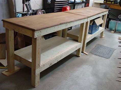 workbench plans    diy   weekend diy
