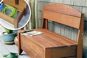 Diy Storage Bench Diy Outdoor Wooden Storage Bench Diy Furniture Ideas