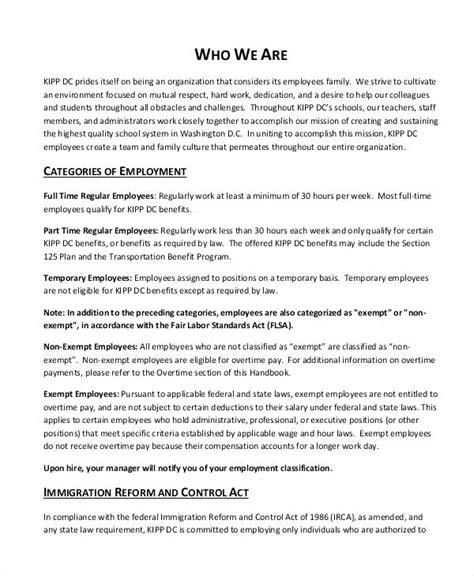 California Employee Handbook Template