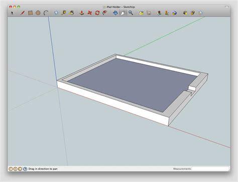 sketchup layout ipad ipad2 and ipad custom holders to display your art