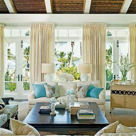 beach decor for living room coastal family room decorating living rooms
