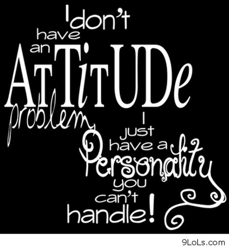 Sarcastic Quotes On Attitude