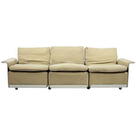 vitsoe sofa rz 62 four element mohair sofa by dieter rams for vitsoe